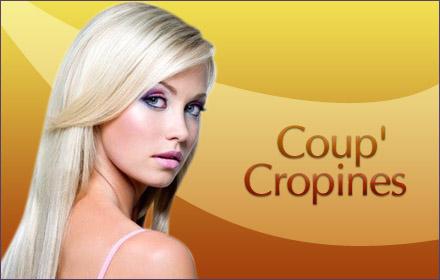 Pour  20,40€ au lieu de 51€, revitalisez vos cheveux chez Coup'Cropines avec votre rendez-vous shampoing, coupe, soin et brushing !