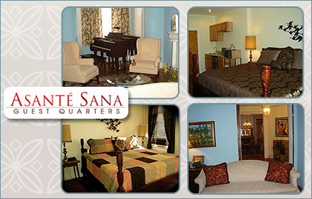 $75 for a one-night stay and basket of delicious goodies at Asante Sana in Columbia Heights ($150 value)