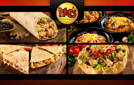 $7.50 for $15 worth of Southwestern food and drinks with bite at Moe's Southwest Grill