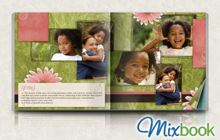 $20 for $50 worth of your choice of personalized photo books, cards, and calendars from Mixbook