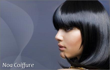 -60%, soit 19,50€ au lieu de 48,50€ votre forfait shampooing + coupe entretien + soin + brushing chez Noa Coiffure !