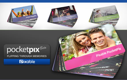 $5 for PocketPix, a compact, 14-page, double-sided photo album, plus free shipping from Pixable ($9.95 value + $2.95 shipping)