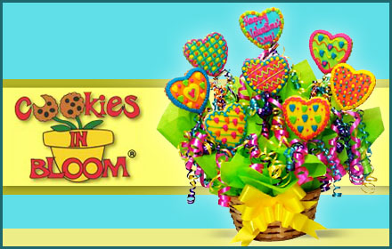 $30 for $60 worth of creative cookie bouquets and more from Cookies In Bloom